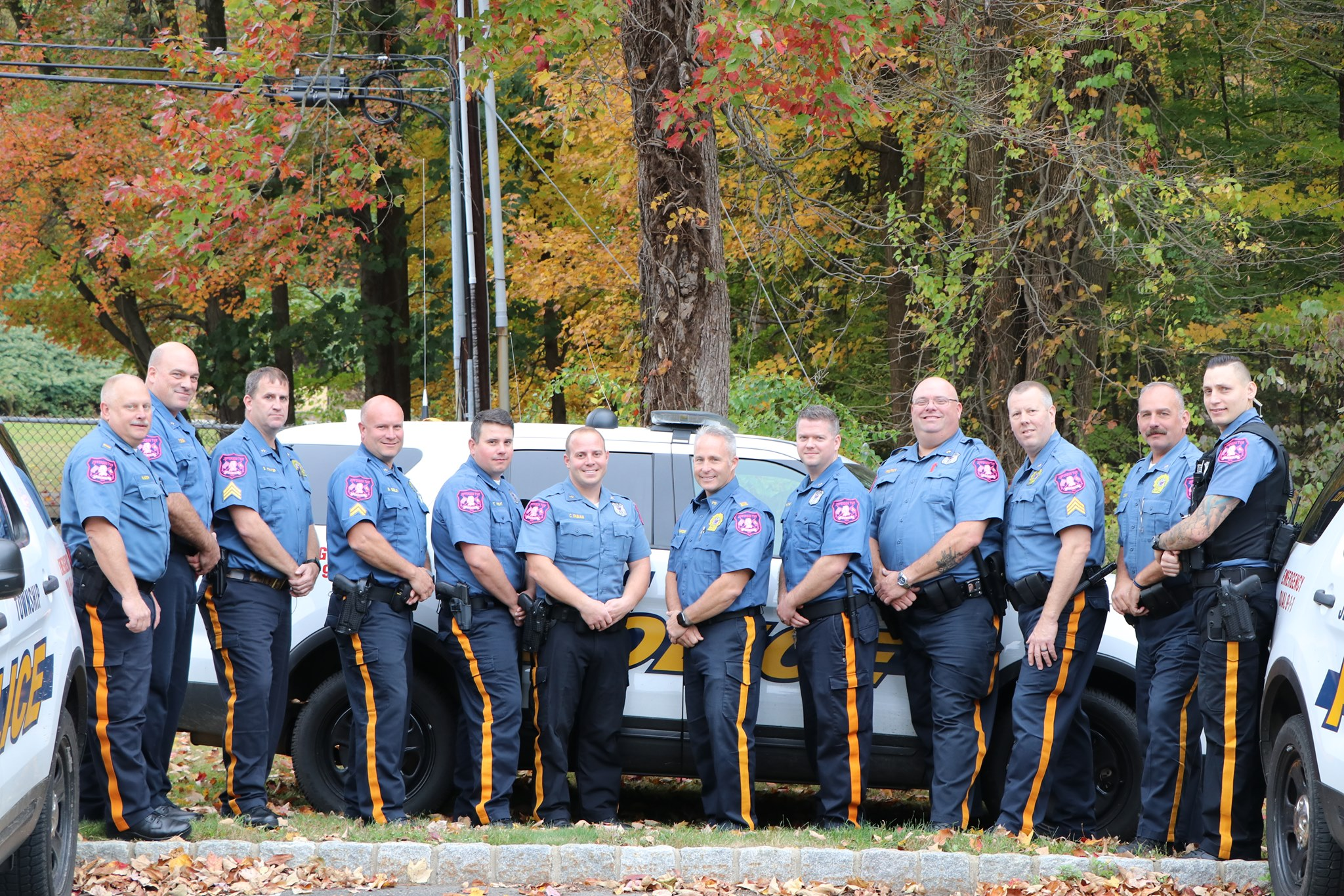 Jefferson Township Police Department No Shave November 2017