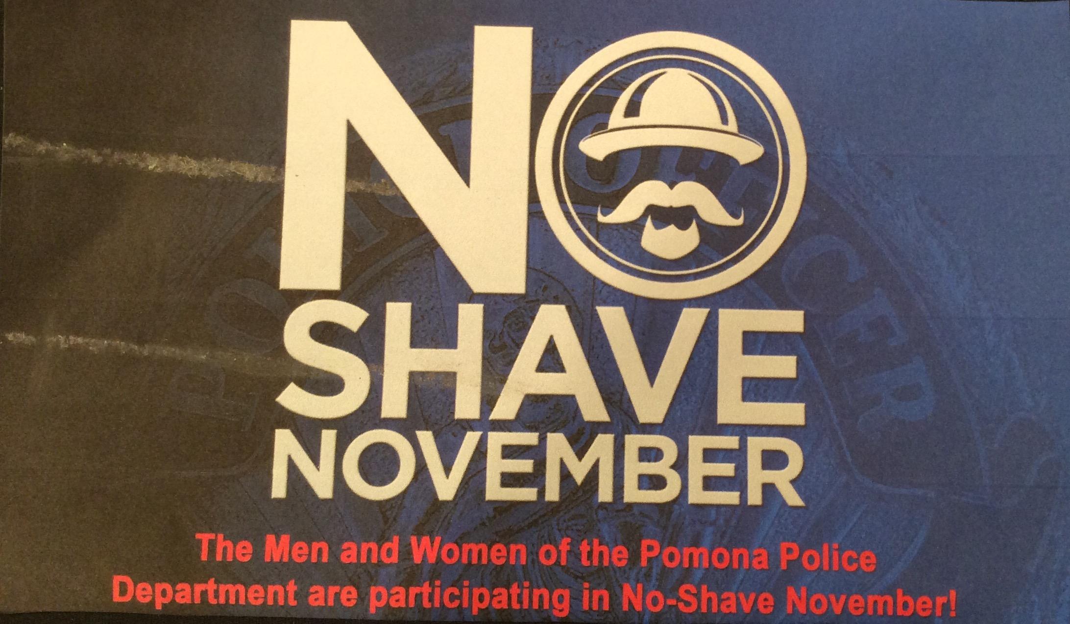 Pomona PD | No-Shave November