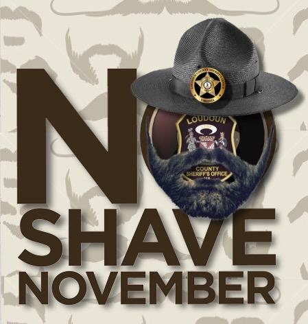 Loudoun County Sheriff's Office No Shave November 2017