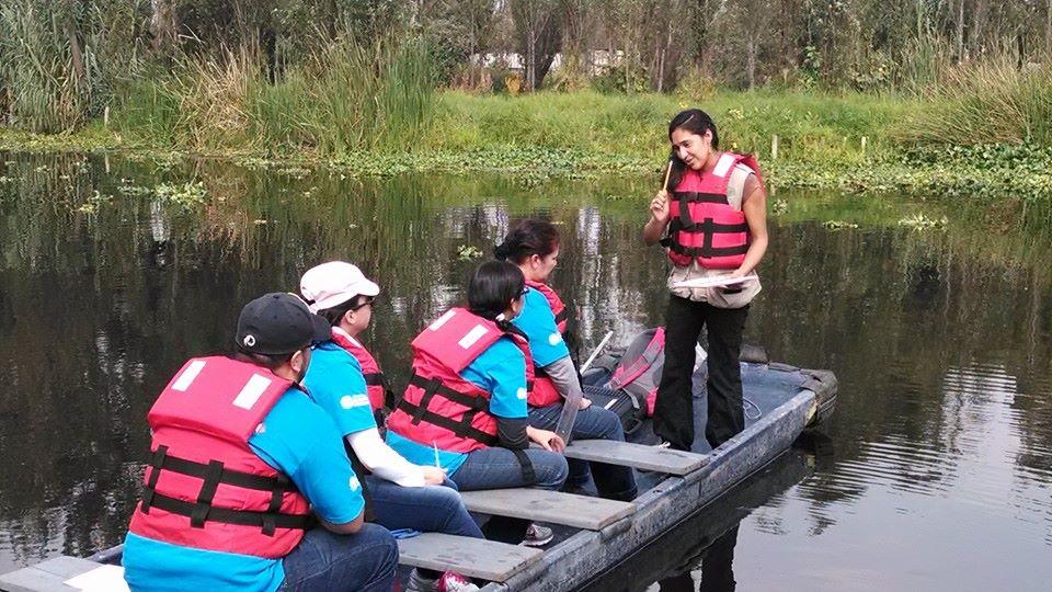 Voluntariado pro-conservación de las Chinampas