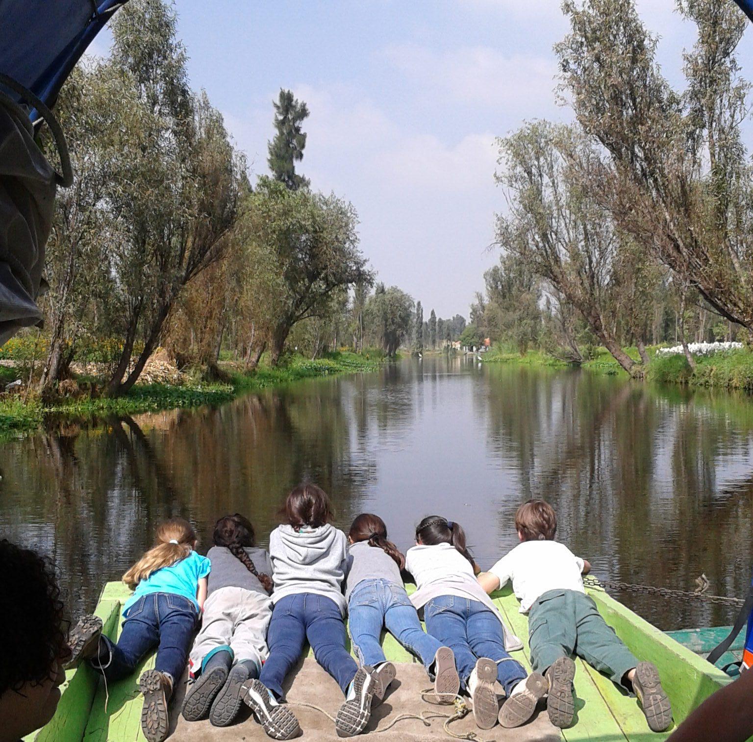 Conociendo el humedal de Xochimilco