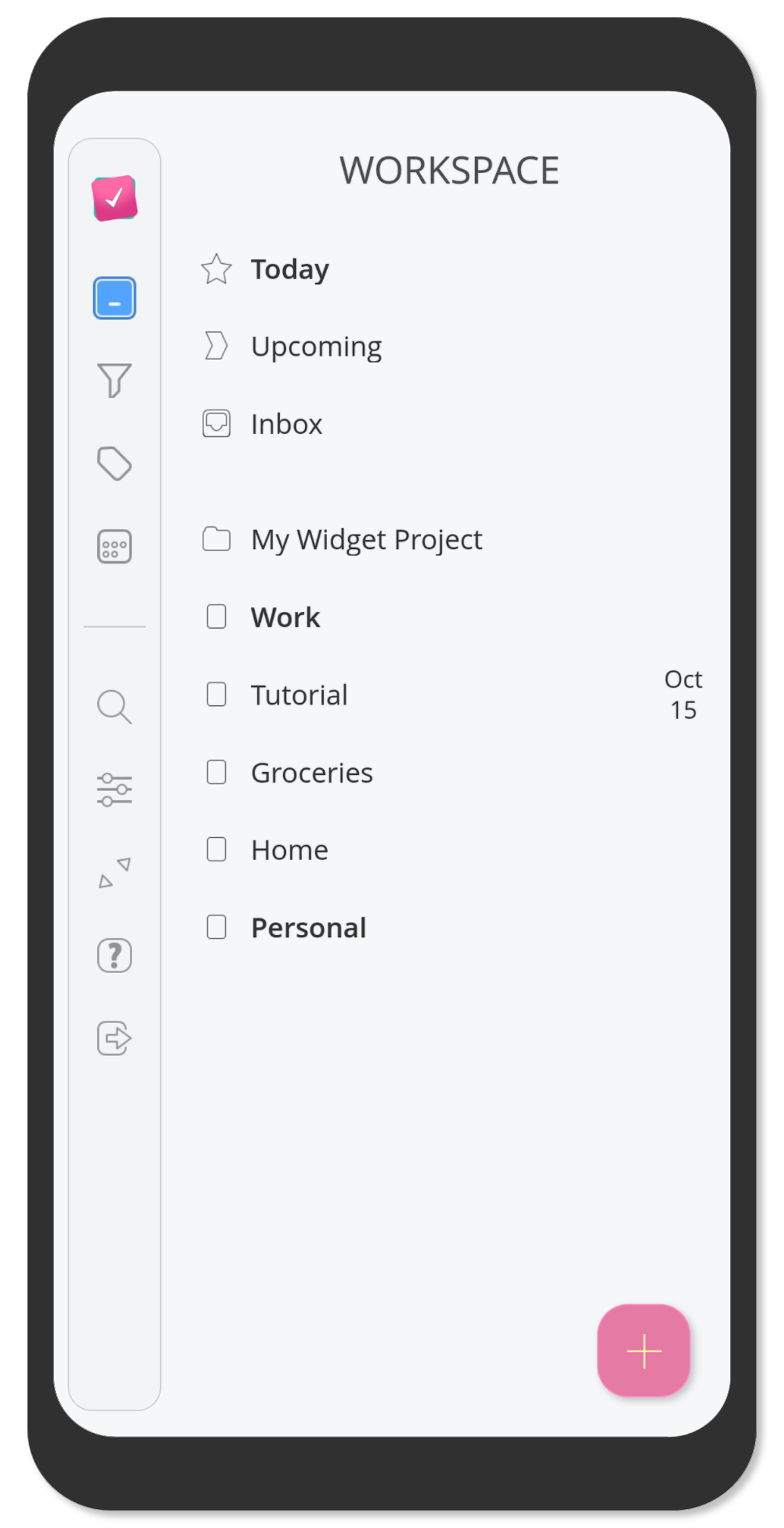 Create multi-list projects for better organization