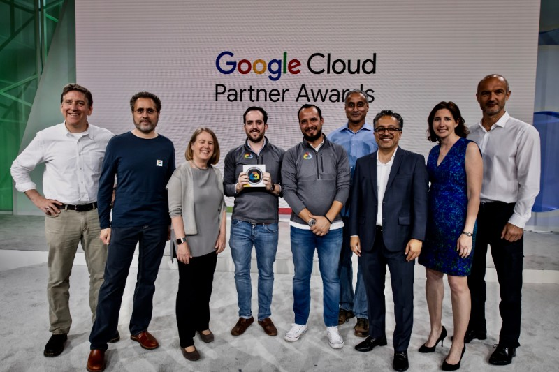 2017 Google Cloud Latam Partner of The Year
