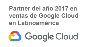 Google Cloud Latam Sales Partner 2017