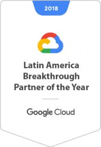 2018 Latin America Breakthrough Partner of the Year