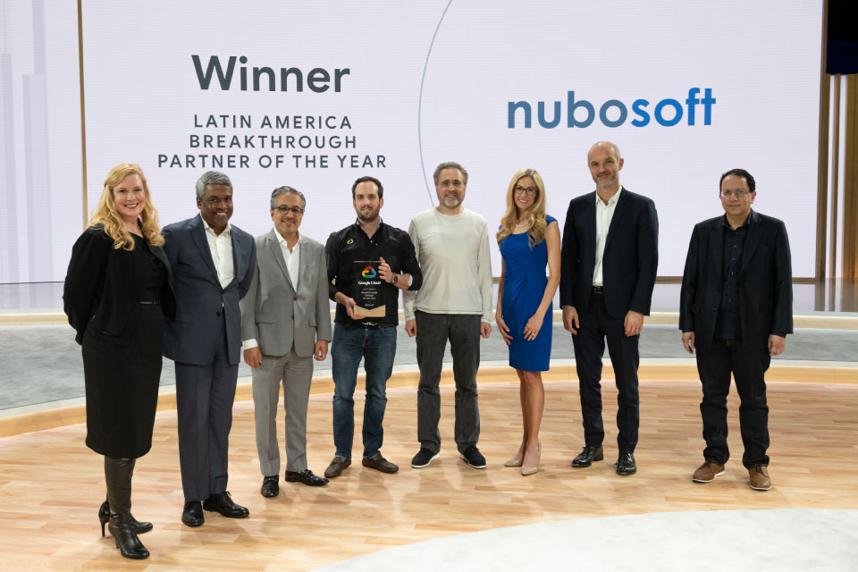 2018 Latin America Breakthrough Partner of the Year (Google Executives)