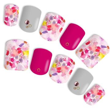 #水彩画ネイル #pink #ピンク #大人ピンク #春ネイル