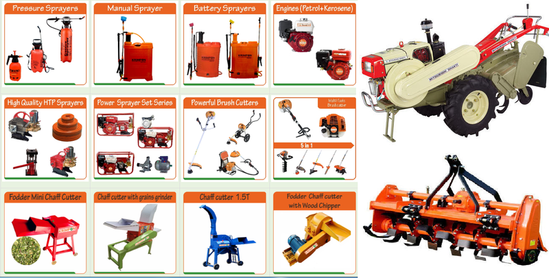 Demonstration Of Agricultural Machinery And Implements