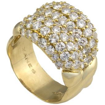 Anillo Yanes de Oro y Diamantes