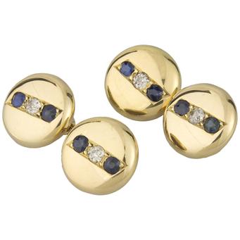 Gemelos Años 20 de Oro, Zafiros y Diamantes