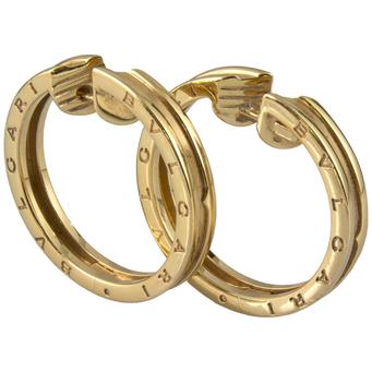 Pendientes Bvlgari de Oro Amarilo