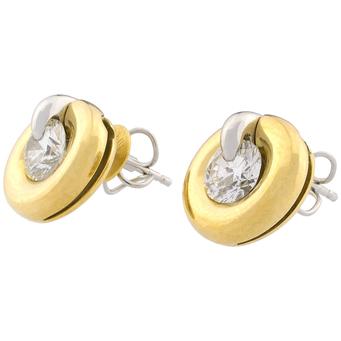 Pendientes Intercambiables De Beers Millenium Diamonds de Oro y Brillantes