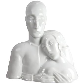 Porcelana Glaseada Rosenthal de Tono Zoelch de 1927