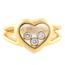 Anillo Chopard Happy Hearts de Oro y Brillantes