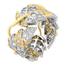 Sortija Tiffany & Co. Schlumberger Leaves de Oro, Platino y Diamantes