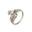 Anillo Años 30 de Platino y Diamantes