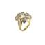 Sortija Vintage Años 70 de Oro y Diamantes