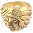 Anillo Años 40 de Oro