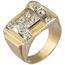 Sortija Chevalier de Oro, Platino y Diamantes