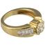 Anillo de Compromiso de Oro y Diamantes
