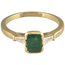 Sortija de Oro, Esmeralda y Diamantes