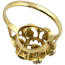 Anillo Vintage de Oro y Brillantes