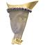 Broche Años 30 de Oro, Zafiros y Diamantes