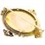 Broche de Oro, Esmalte y Diamantes