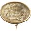 Broche Siglo XIX de Oro Bajo