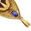 Colgante Novecentista Fusset y Grau de Oro, Zafiros, Diamantes, Marfil y Carey