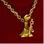 Cadena y Colgante Salvador Dalí de Oro