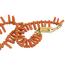 Collar Siglo XIX de Coral y Oro