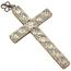 Cruz Art Decó de Oro, Platino y Diamantes