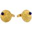 Gemelos de Oro y Lapislázuli