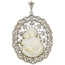 Medalla de Platino, Diamantes y Nácar