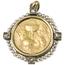 Medalla Conmemorativa Primera Comunión de Oro, Perlas y Diamantes