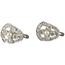 Pendientes Art Decó de Platino, Diamantes y Perlas