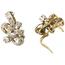 Pendientes Vintage Años 50 de Oro y Diamantes