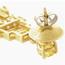 Pendientes Buchwald de Oro, Diamantes y Turmalinas