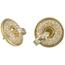 Pendientes Vintage Años 60 de Oro y Diamantes