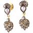 Pendientes Isabelinos de Plata, Oro y Diamantes