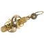 Pendientes Isabelinos Siglo XIX de Oro y Perlas