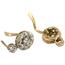 Pendientes Vintage de Oro y Zafiros
