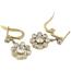 Pendientes Art Decó de Oro y Diamantes