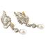 Pendientes Vintage de Oro, Diamantes y Perlas