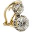 Pendientes de Oro, Platino y Diamantes