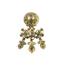Pendientes Siglo XVIII-XIX de Oro y Diamantes