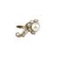 Pendientes Vintage de Oro, Perlas y Diamantes
