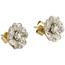 Pendientes Vintage de Oro, Platino y Diamantes