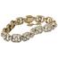 Pulsera de Compromiso Primera Mitad Siglo XX de Oro, Platino y Diamantes